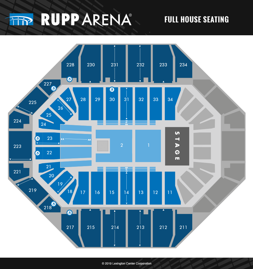 Seating Diagrams | Rupp Arena