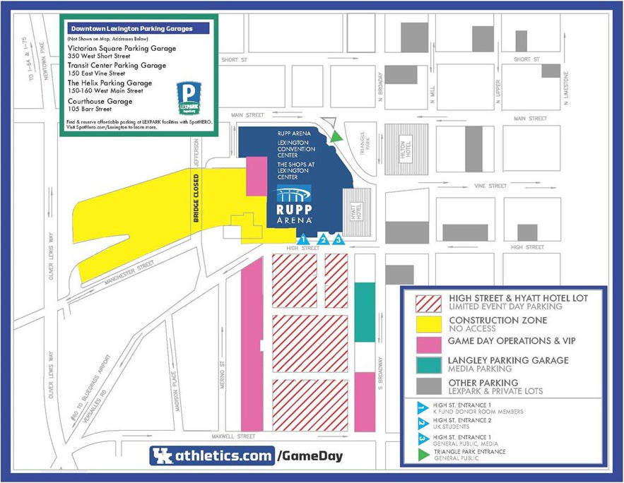 Rupp Construction Map